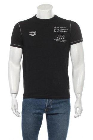 Ανδρικό t-shirt Arena, Μέγεθος S, Χρώμα Μαύρο, Βαμβάκι, Τιμή 7,79€