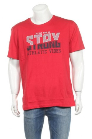 Ανδρικό t-shirt Blue Seven, Μέγεθος XL, Χρώμα Κόκκινο, Βαμβάκι, Τιμή 13,15€