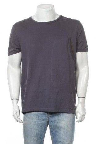 Мъжка тениска Boss, Размер XL, Цвят Сив, Памук, Цена 55,86лв.