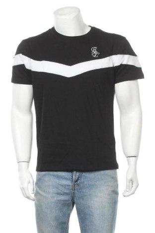 Ανδρικό t-shirt Brave Soul, Μέγεθος L, Χρώμα Μαύρο, Βαμβάκι, Τιμή 12,27€