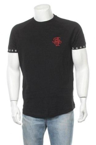 Ανδρικό t-shirt Brave Soul, Μέγεθος L, Χρώμα Μαύρο, Βαμβάκι, Τιμή 11,54€