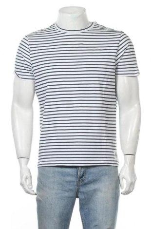 Мъжка тениска Brax, Размер L, Цвят Бял, Цена 26,25лв.