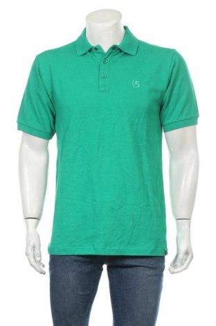 Мъжка тениска Burton, Размер S, Цвят Зелен, Памук, Цена 72,45лв.