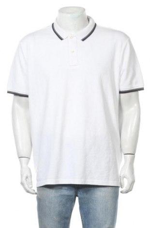 Ανδρικό t-shirt C&A, Μέγεθος XXL, Χρώμα Λευκό, 73% βαμβάκι, 27% πολυεστέρας, Τιμή 11,69€