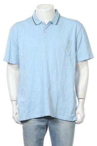Мъжка тениска Canda, Размер XXL, Цвят Син, Памук, Цена 14,70лв.