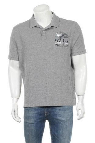 Мъжка тениска Canda, Размер XL, Цвят Сив, 85% памук, 15% вискоза, Цена 17,85лв.