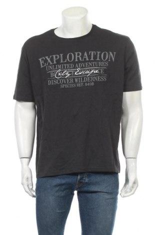 Мъжка тениска Canda, Размер XL, Цвят Черен, Цена 17,85лв.