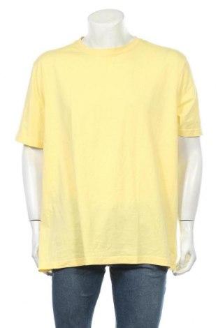Мъжка тениска Canda, Размер XXL, Цвят Жълт, Памук, Цена 16,96лв.