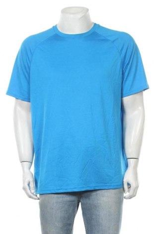 Мъжка тениска Champion, Размер XL, Цвят Син, Полиестер, Цена 18,95лв.