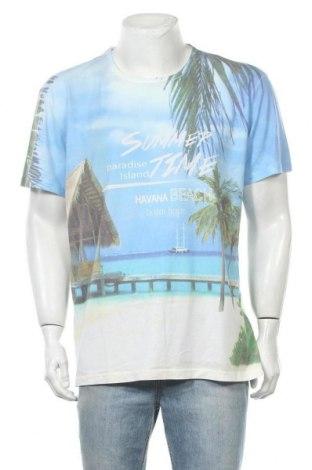Ανδρικό t-shirt Charles Vogele, Μέγεθος XL, Χρώμα Πολύχρωμο, 65% πολυεστέρας, 35% βαμβάκι, Τιμή 8,18€