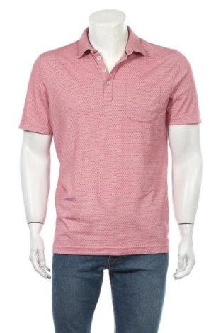 Ανδρικό t-shirt Charles Vogele, Μέγεθος M, Χρώμα Ρόζ , 60% πολυεστέρας, 40% βαμβάκι, Τιμή 9,09€