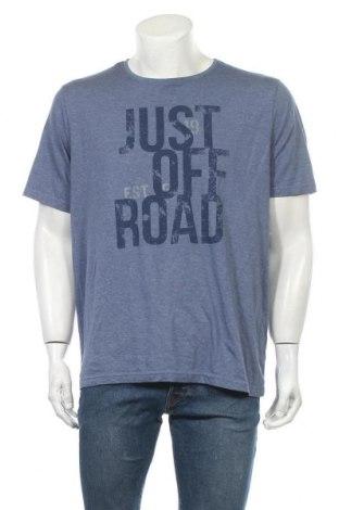Ανδρικό t-shirt Charles Vogele, Μέγεθος XL, Χρώμα Μπλέ, Τιμή 11,69€