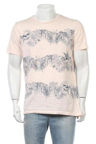 Ανδρικό t-shirt Clockhouse, Μέγεθος XL, Χρώμα Ρόζ , Τιμή 11,04€