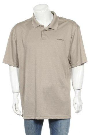 Мъжка тениска Columbia, Размер XXL, Цвят Кафяв, Полиестер, Цена 28,35лв.