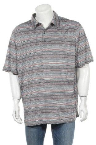 Мъжка тениска Cutter & Buck, Размер XXL, Цвят Многоцветен, Полиестер, Цена 7,56лв.