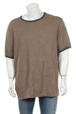 Ανδρικό t-shirt Denver Hayes, Μέγεθος XXL, Χρώμα  Μπέζ, Βαμβάκι, Τιμή 5,85€