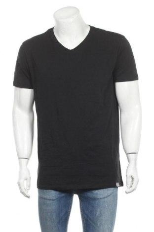 Мъжка тениска Diesel, Размер XXL, Цвят Черен, 95% памук, 5% еластан, Цена 74,25лв.