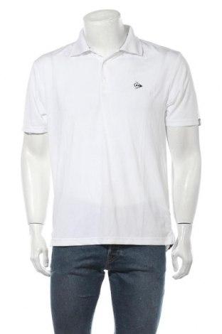 Ανδρικό t-shirt Dunlop, Μέγεθος M, Χρώμα Λευκό, Πολυεστέρας, Τιμή 10,38€