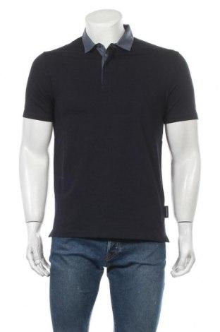 Мъжка тениска Emporio Armani, Размер L, Цвят Син, 95% памук, 5% еластан, Цена 119,25лв.