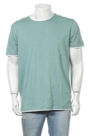 Ανδρικό t-shirt Esprit, Μέγεθος XL, Χρώμα Πράσινο, Βαμβάκι, Τιμή 20,78€