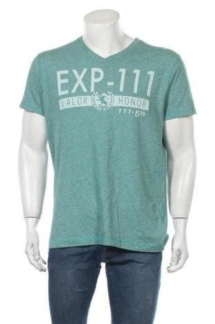 Ανδρικό t-shirt Express, Μέγεθος L, Χρώμα Πράσινο, Βαμβάκι, Τιμή 8,64€