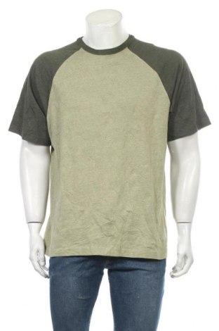 Ανδρικό t-shirt Faded Glory, Μέγεθος L, Χρώμα Πράσινο, 60% βαμβάκι, 40% πολυεστέρας, Τιμή 11,04€