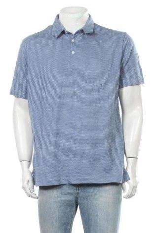 Ανδρικό t-shirt George, Μέγεθος L, Χρώμα Μπλέ, Πολυεστέρας, Τιμή 8,31€