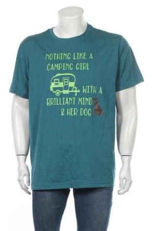Ανδρικό t-shirt George, Μέγεθος XL, Χρώμα Πράσινο, 65% πολυεστέρας, 35% βαμβάκι, Τιμή 11,04€