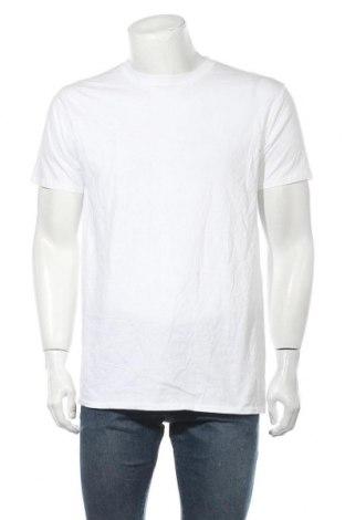 Мъжка тениска Gildan, Размер L, Цвят Бял, 100% памук, Цена 15,12лв.