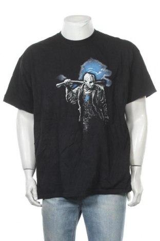 Мъжка тениска Gildan, Размер XXL, Цвят Черен, Памук, Цена 15,17лв.