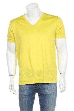Ανδρικό t-shirt Hugo Boss, Μέγεθος XL, Χρώμα Κίτρινο, Βαμβάκι, Τιμή 36,37€