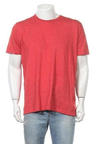 Ανδρικό t-shirt Identic, Μέγεθος XXL, Χρώμα Κόκκινο, 50% βαμβάκι, 50% πολυεστέρας, Τιμή 8,83€