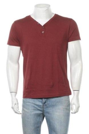 Ανδρικό t-shirt Identic, Μέγεθος M, Χρώμα Κόκκινο, Βαμβάκι, Τιμή 7,79€