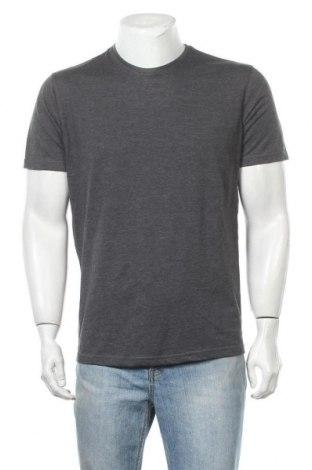 Ανδρικό t-shirt Identic, Μέγεθος M, Χρώμα Γκρί, 50% βαμβάκι, 50% πολυεστέρας, Τιμή 9,87€