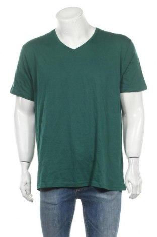 Ανδρικό t-shirt Identic, Μέγεθος XL, Χρώμα Πράσινο, Βαμβάκι, Τιμή 6,62€