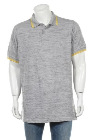 Ανδρικό t-shirt Identic, Μέγεθος XXL, Χρώμα Γκρί, Τιμή 8,77€