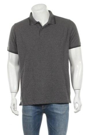 Ανδρικό t-shirt Identic, Μέγεθος XL, Χρώμα Γκρί, 60% βαμβάκι, 40% πολυεστέρας, Τιμή 11,11€
