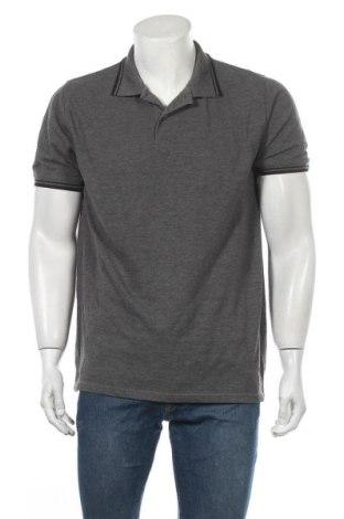 Ανδρικό t-shirt Identic, Μέγεθος XL, Χρώμα Γκρί, 60% βαμβάκι, 40% πολυεστέρας, Τιμή 11,72€