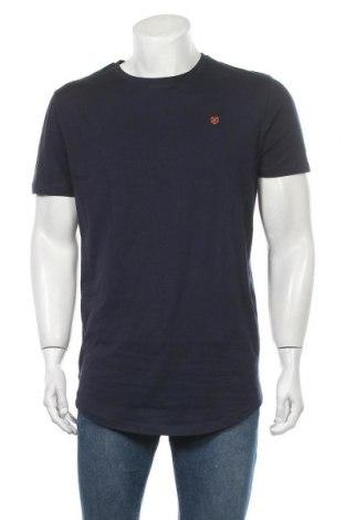 Ανδρικό t-shirt Jack & Jones, Μέγεθος L, Χρώμα Μπλέ, 100% βαμβάκι, Τιμή 12,37€