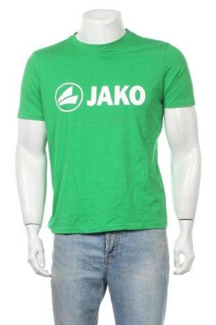 Ανδρικό t-shirt Jako, Μέγεθος M, Χρώμα Πράσινο, Βαμβάκι, Τιμή 8,77€