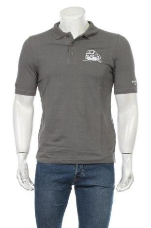 Ανδρικό t-shirt Jako, Μέγεθος S, Χρώμα Γκρί, Βαμβάκι, Τιμή 5,91€