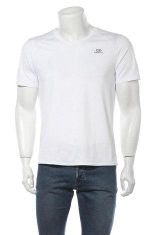 Мъжка тениска Kalenji, Размер L, Цвят Бял, Цена 13,44лв.