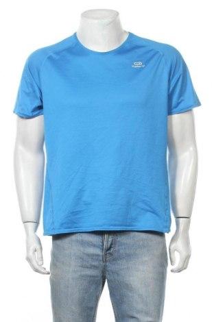 Мъжка тениска Kalenji, Размер XL, Цвят Син, Полиестер, Цена 12,50лв.