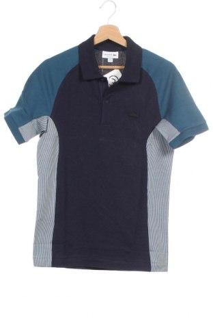 Ανδρικό t-shirt Lacoste, Μέγεθος XS, Χρώμα Μπλέ, 73% βαμβάκι, 27% πολυεστέρας, Τιμή 33,17€