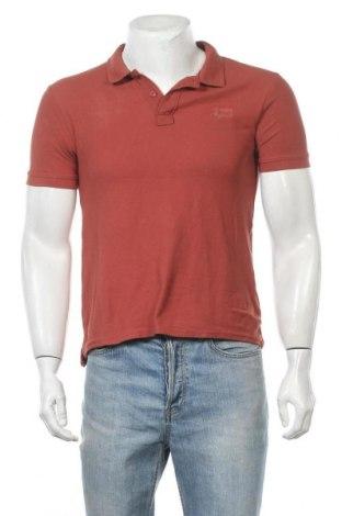 Мъжка тениска Lee Cooper, Размер S, Цвят Кафяв, Памук, Цена 12,60лв.