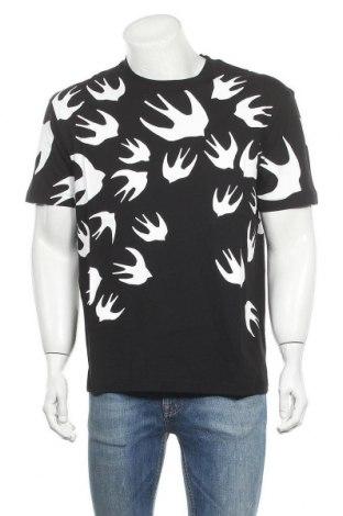 Мъжка тениска McQ Alexander McQueen, Размер L, Цвят Черен, Памук, Цена 167,17лв.