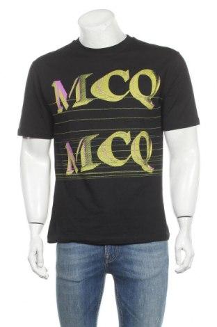Мъжка тениска McQ Alexander McQueen, Размер M, Цвят Черен, Памук, Цена 159,87лв.