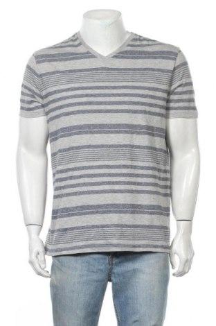 Ανδρικό t-shirt Mossimo, Μέγεθος L, Χρώμα Γκρί, 60% βαμβάκι, 39% πολυεστέρας, 1% άλλα υφάσματα, Τιμή 9,35€