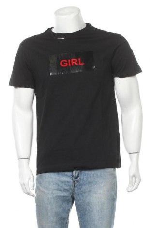 Ανδρικό t-shirt N 21, Μέγεθος M, Χρώμα Μαύρο, Βαμβάκι, Τιμή 56,45€