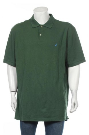 Ανδρικό t-shirt Nautica, Μέγεθος XXL, Χρώμα Πράσινο, Βαμβάκι, Τιμή 77,16€
